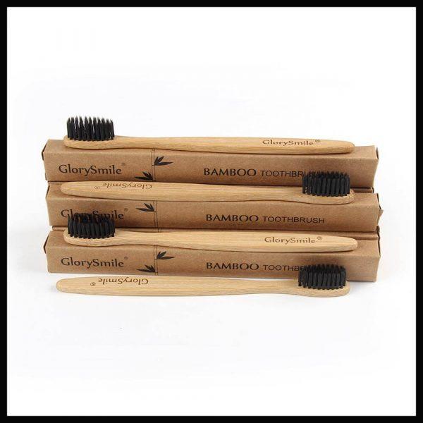 Λευκά Δόντια με Bamboo Οδοντόβουρτσα GlorySmile