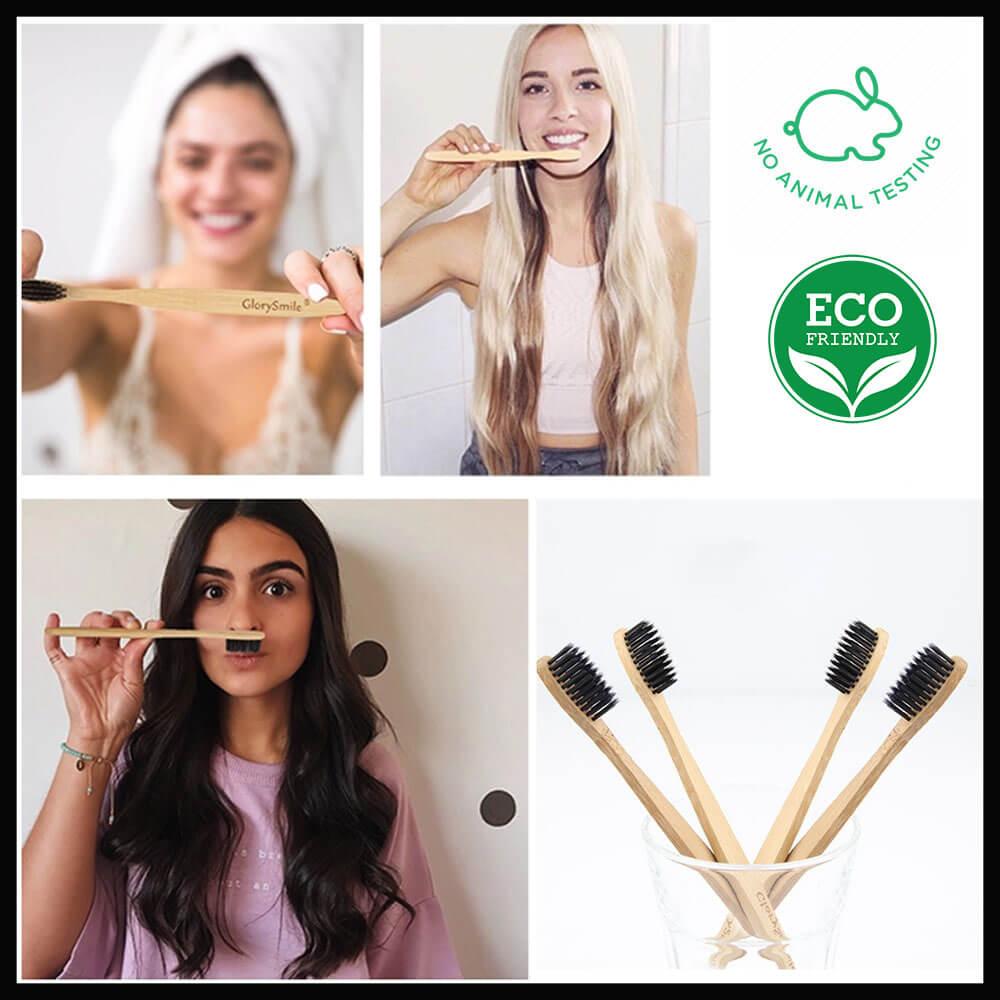 Bamboo Οδοντόβουρτσα - Λεύκανση Δοντιών GlorySmile Greece