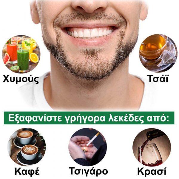 GLORY SMILE Πακέτο λεύκανσης δοντιών