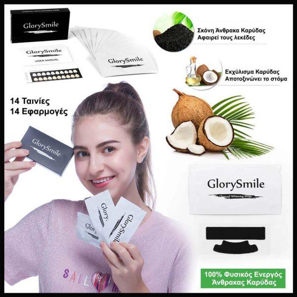 Οικονομικό πακέτο με προϊόντα φυσικής λεύκανσης δοντιών